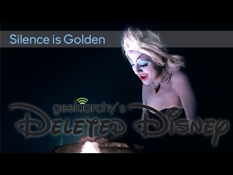 """Deleted Disney: """"Silence Is Golden"""" Cover"""