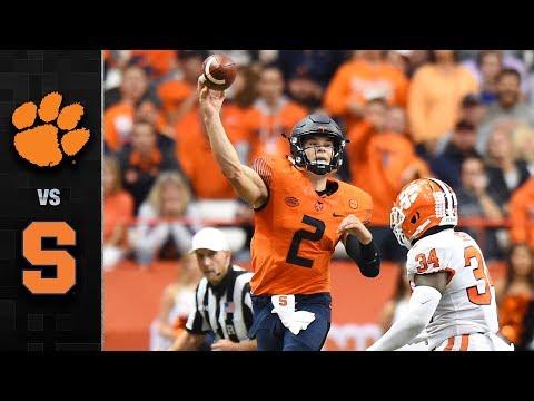 Clemson vs. Syracuse Football Highlights (2017) (видео)
