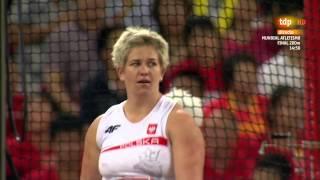 Anita Wlodarczyk(POL) 80.85m CR złoto Gold Medal Hammer Throw World Championships 2015