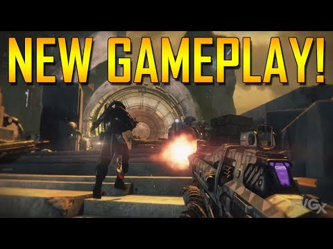 Destiny – New Gameplay, Cabal Dropship, Multiplayer, Hunter Knife-Throw!