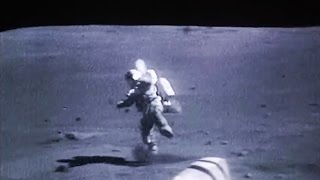 重力が地球の6分の1ってこういうことなんだ。月面着陸した宇宙飛行士たちのずっこけ動画集に対する海外の反応