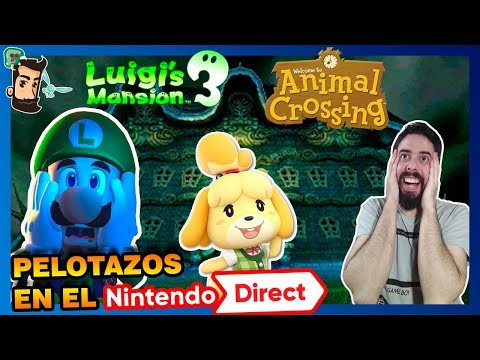 Nintendo Direct ¡LUIGI'S MANSION Y ANIMAL CROSSING! | Resumen | Opinión | Smash