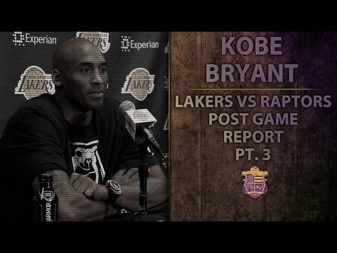 Video: Lakers' Kobe Bryant Grades His Debut Perfomance With An