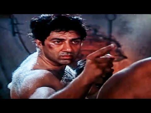 Yeh Mazdoor Ka Haath Hai Kaatiya | Sunny Deol Superhit Action Dialogue Scene | Ghatak