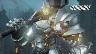 Overwatch - Reinhardt Gameplay Trailer