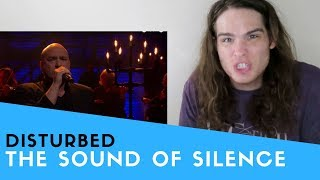 Video Voice Teacher Reacts to Disturbed's cover of The Sound of Silence MP3, 3GP, MP4, WEBM, AVI, FLV Desember 2018