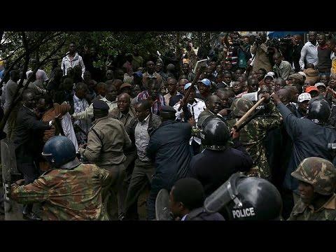 Κένυα: επεισόδια στην διαδήλωση κατά της εκλογικής επιτροπής