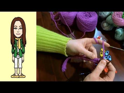 RVO – Raglan von oben Pullover stricken mit V-Ausschnitt (Teil 1 von 12)