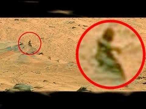 fotografato alieno su marte - no fake - reale