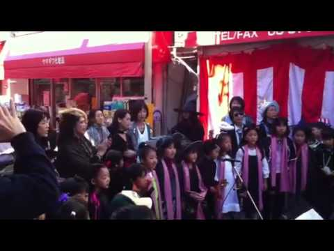 東深沢小学校コーラス部エーダン祭