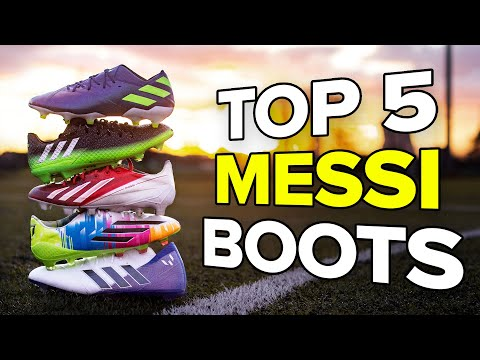Top 5 Messi boots ever | Best boots for 2019 Ballon d'Or winner