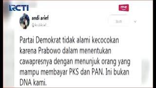 Video Partai Demokrat Kecewa Pasca Nama Sandiaga Uno Disebut Menjadi Cawapres Prabowo - SIP 09/08 MP3, 3GP, MP4, WEBM, AVI, FLV Maret 2019