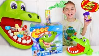 Video CROCODILE DENTIST CHALLENGE - Surprises ou Jelly Belly ? - Jeu Croc Dentiste MP3, 3GP, MP4, WEBM, AVI, FLV Mei 2017