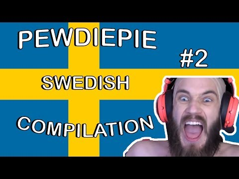 PewDiePie Swedish Compilation #2 [English Subs&Trans]