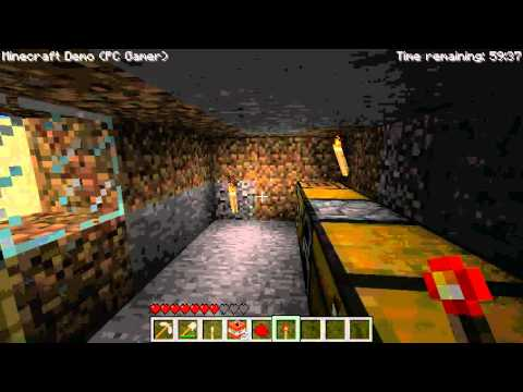 PC Gamer Minecraft Demo Secrets!