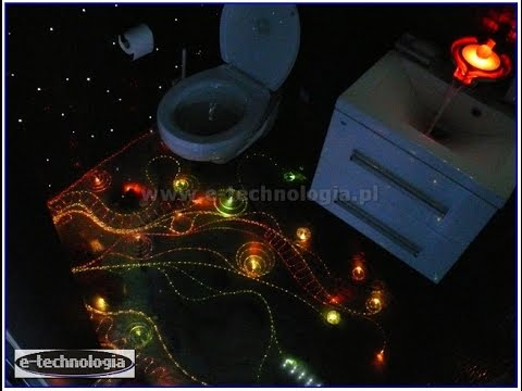 oświetlenie podłogowe łazienki