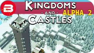 Kingdoms and Castles Gameplay: TOWER O' DOOM!!! #8 - Lets Play Kingdoms & Castle Alpha City Building
