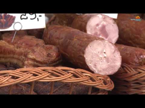 Przepyszne domowe wędliny, sery i pachnący chleb. Targi Agro Eko w Augustowie