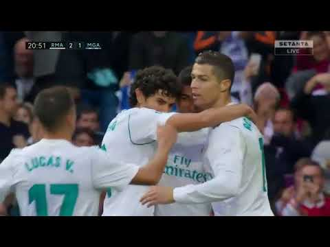 Real Madrid vs Malaga 3-2 - All Goals & Highlights - La Liga 25/11/2017 HD