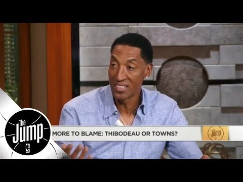 Scottie Pippen: Karl-Anthony Towns 'has to be aggressive' in Game 2 vs. Rockets   The Jump   ESPN