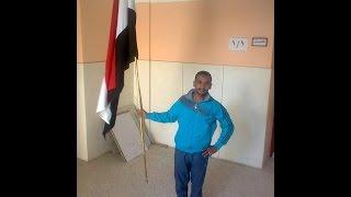 ابو حفصة محمود هديب للإعلان يبدع على سور جامعة بنى سويف