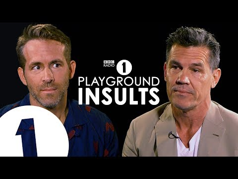 Ryan Reynolds and Josh Brolin Insult Each Other