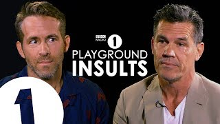 Ryan Reynolds and Josh Brolin Insult Each Other | CONTAINS STRONG LANGUAGE!