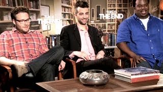 Cast Interview - This Is The End (JoBlo.com) Seth Rogen, Jay Baruchel, Craig Robinson