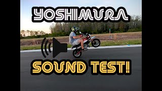 10. 2019 Honda Monkey ULTIMATE Yoshimura Sound Test!