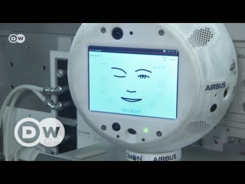 Roboter im Weltraum: CIMON begleitet Alexander Gerst  ...