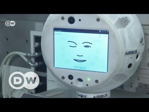 Roboter im Weltraum: CIMON begleitet Alexander Gers ...