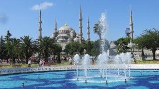 Video Sultan Ahmed Mosque blue mosque, Istanbul, Turkey MP3, 3GP, MP4, WEBM, AVI, FLV September 2018