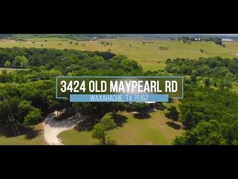 3424 Old Maypearl Rd, Waxahachie, TX 75167