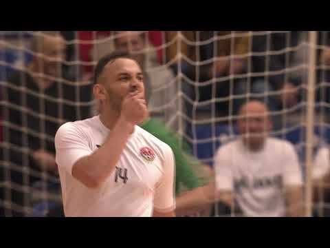 UEFA Futsal Champions League. Nove Vrijeme (CRO) vs Ayat (KAZ) - 3:2. Highlights