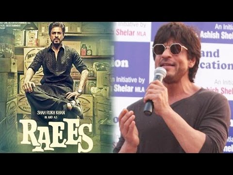 Shah Rukh Khan Enacting The Famous Dialogue Of Rae