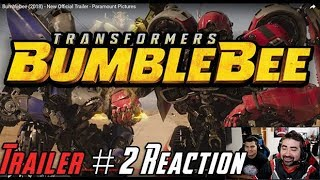 Video Bumblebee Trailer #2 Angry Reaction! MP3, 3GP, MP4, WEBM, AVI, FLV Oktober 2018