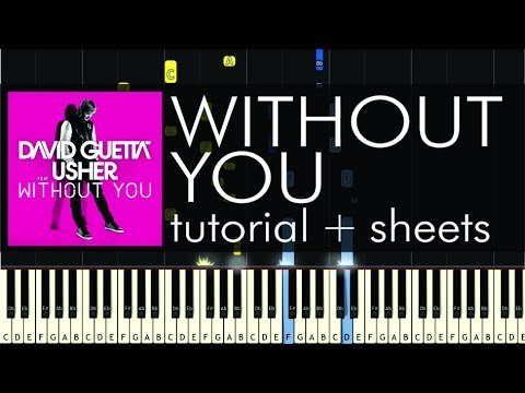 Without You - David Guetta video tutorial preview