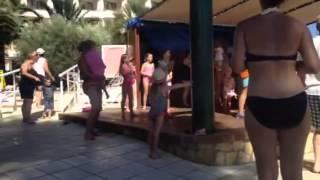 Hotel Miami escana ibiza 2014 sunshine song kids club.      Yes theory