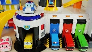 Video Tayo bus emergency center and Robocar Poli car toys MP3, 3GP, MP4, WEBM, AVI, FLV Desember 2017