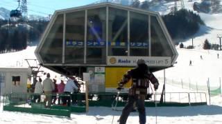KNNスポーツ  苗場で初のカービングスキー体験!Salomon サロモン