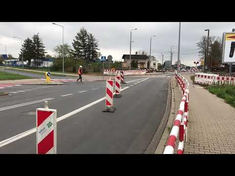 Wideo1: Przejazd kolejowy na ul. 1 Maja w Lesznie znów zamknięty