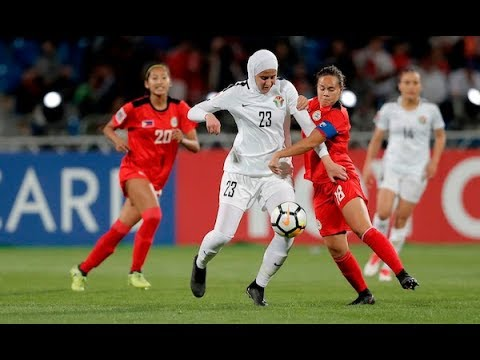 Jordan 1-2 Philippines (AFC Women's Asian Cup 2018: Group Stage)