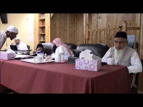 قراءة مسلم على ش.ظهير الدين وعبد الرحمن المباركفوريين  من قوله