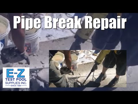 Trending Now - How to Fix a Broken Pipe in an Inground Swimming Pool