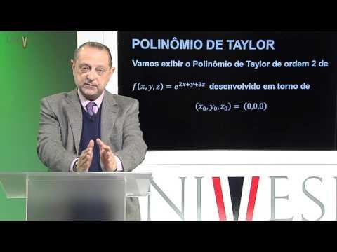 Cálculo II - Aula 17 - Polinômio de Taylor - Parte 2