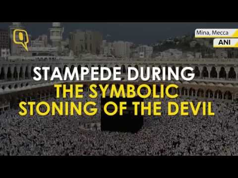 A horrific stampede in Mecca Claims 717 pilgrims killed & Over 800 Injured
