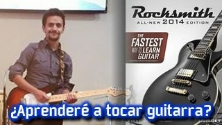 Rocksmith 2014: ¿Aprenderé a tocar guitarra?. Echale un vistazo a esta reseña para aclarar tus dudas...