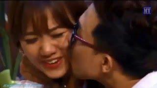 Hari Won qua đêm với Trấn Thành, hôn nhau say đắm nơi công cộng ngay sau khi chia tay Đinh Tiến Đạt, hai tran thanh, xem hai tran thanh, tran thanh, hai tran thanh 2015