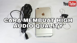 Video Cara Membuat Suara di Video Jadi Bagus Low Budget #6 MP3, 3GP, MP4, WEBM, AVI, FLV Oktober 2017