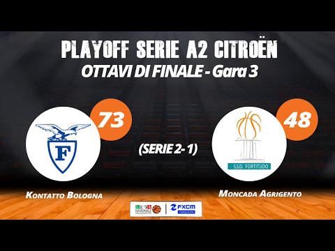 A2 Playoff – Ottavi Gara3, gli highlights di Fortitudo Bologna-Agrigento